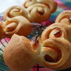 パン屋さんのパンを焼こう♪簡単ベーコンエピ&エピリース