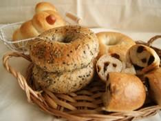 料理レッスン写真 - 国産小麦粉と相性ピッタリのホシノ天然酵母で作る!3種類のベーグル