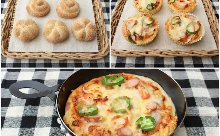プチプチとした食感のカイザーゼンメルとピザパン