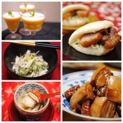 もっちり中華蒸しパン(パオ)とイタリアンな豚の角煮の春待ちメニュー