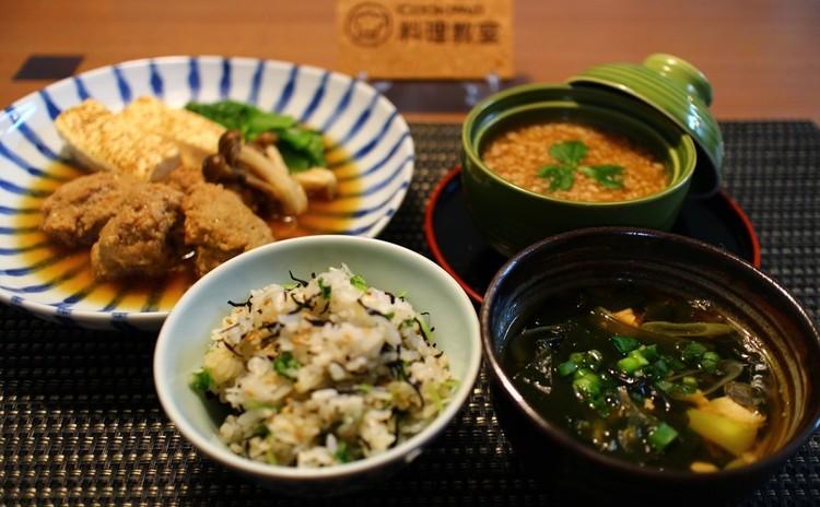 青菜と肉団子の蒸し煮~忙しい日の和ごはん~
