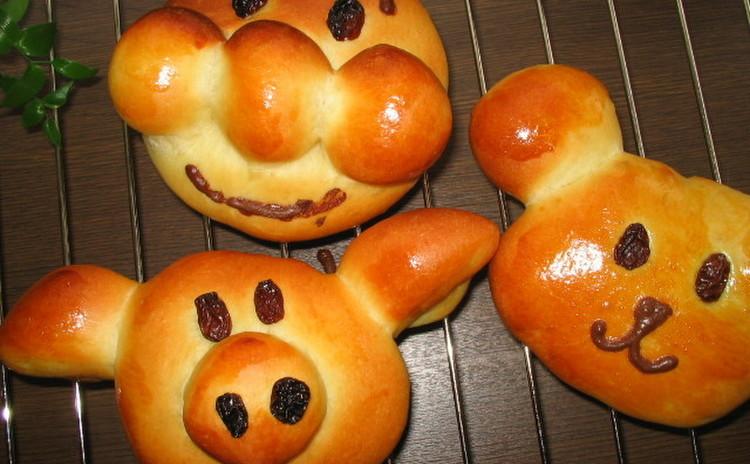 ★親子レッスン★パン作りを楽しんじゃおう!動物パン&ハムのお総菜パン