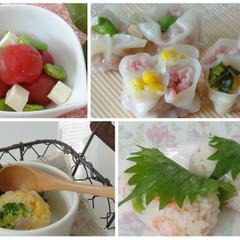春のおもてなし♪花焼売と春野菜の旬料理~食後のデザートはレシピ付き♪