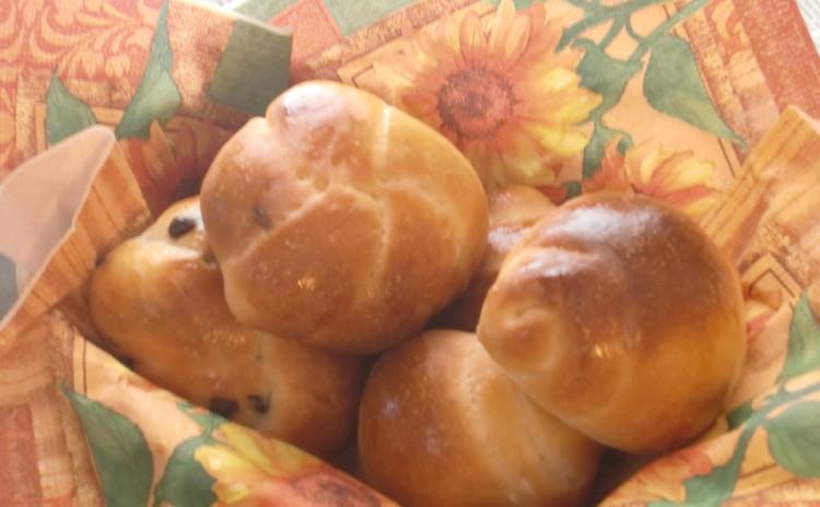 お子様連れクラス★ランチ付・自家製酵母★バターロール&チョコチップパン