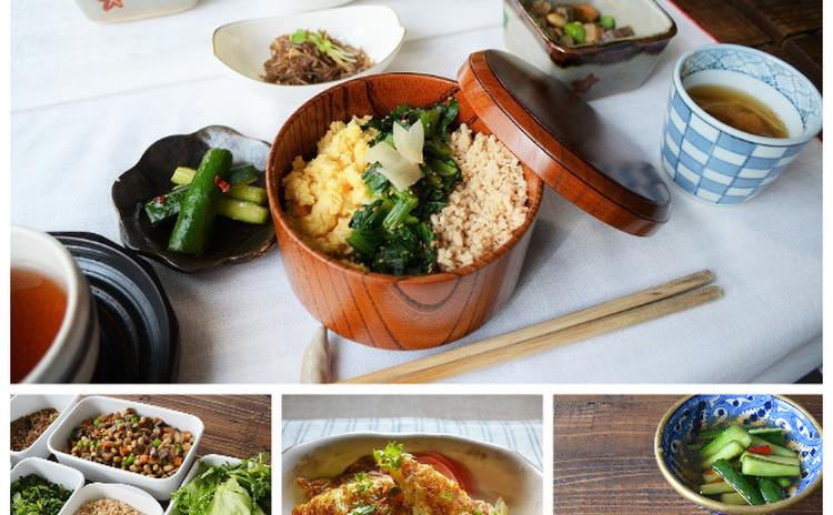 すぐ食べても作り置きしてもおいしい常備菜!盛りつけチェンジでお弁当も♪
