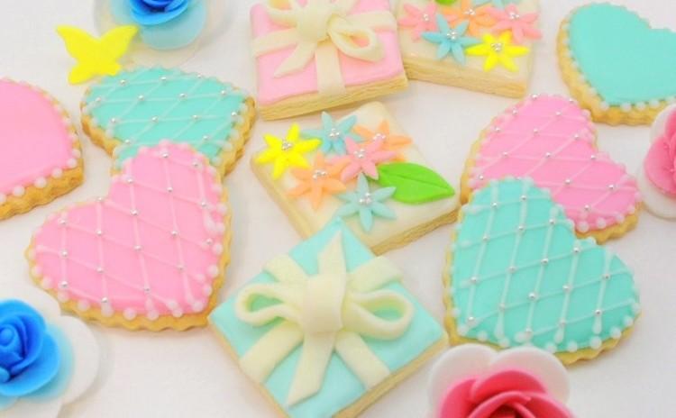 贈る♡春色アイシングクッキー♡(素敵なギフトボックスつき)