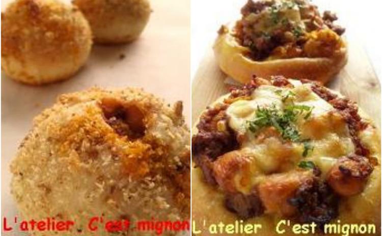 揚げない自家製ひよこ豆カレーのカレーパン2種 &クミンフランス