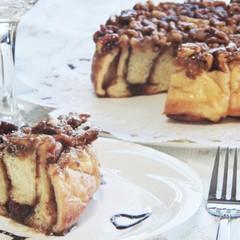 クルミとメープルのケーキパン♡機械で捏ねて可愛い成形をマスター♡