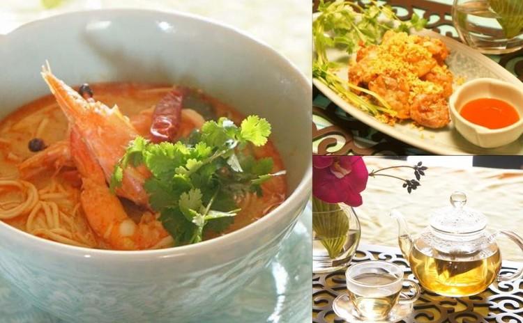 本当に美味しく作れる本格タイ料理♪海老のトムヤムヌードル&鶏唐揚げ♪
