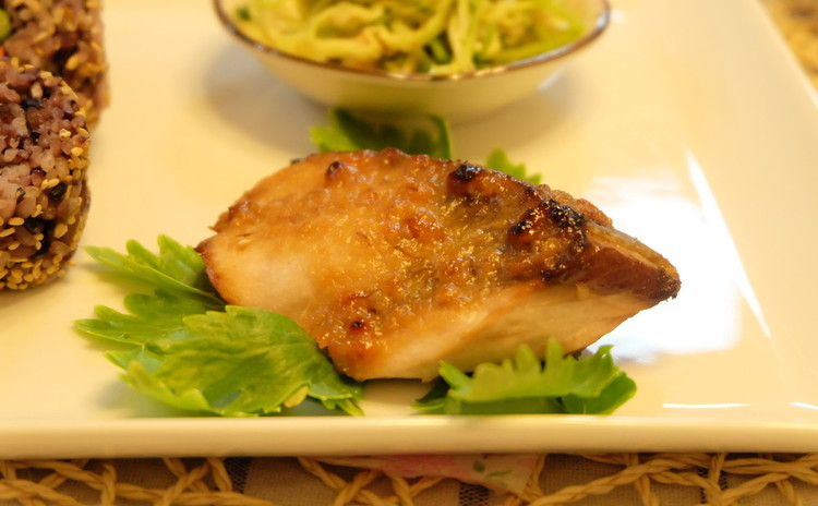 魚の西京漬け焼き