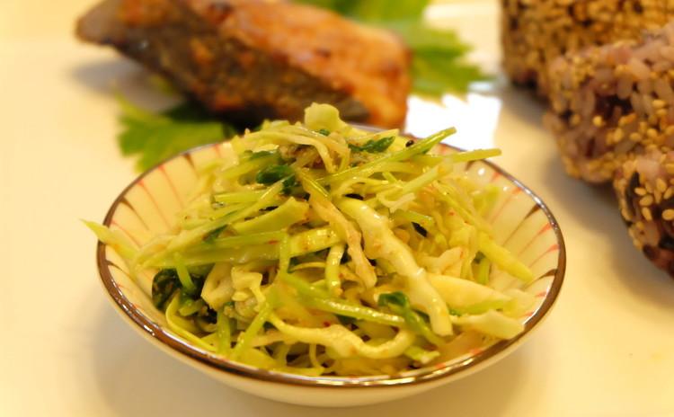 薬味野菜の南蛮甘酢和え