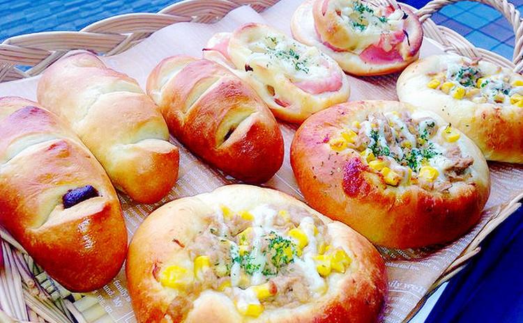 初心者さん注目!ランチ付★基礎からのパン作り★お総菜パン&チョコパン