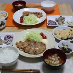 料理の基本レッスン【いりこだし・手作りマヨネーズ】生姜焼き・黒蜜団子