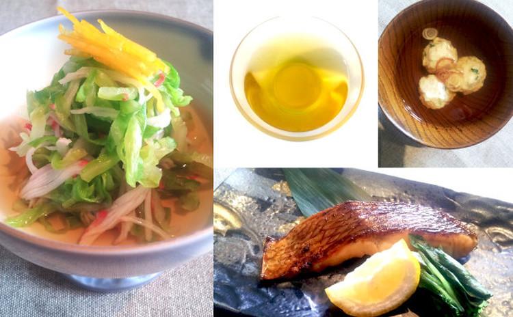 [日程追加]一番出しから作る基本の和食☆柚香焼き&烏賊つみれ汁&酢の物