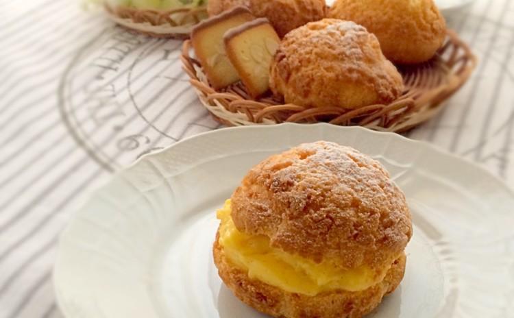 クッキーシュー〜カスタードとキャラメルのふたつのクリームで召し上がれ~