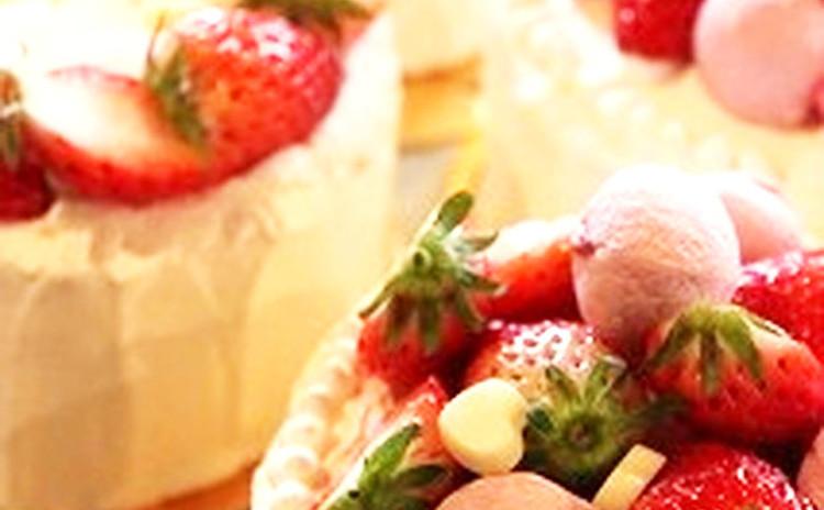 【女性限定】皆が大好き♪ふわふわスポンジの「いちごのショートケーキ」