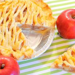 新発見!パイ皮ってこ~んなにおいしい!アメリカンスタイルのアップルパイ