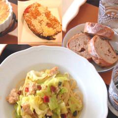 本格的なイタリアンに挑戦!手作りサルシッチャパスタ&ネギとナスグラタン