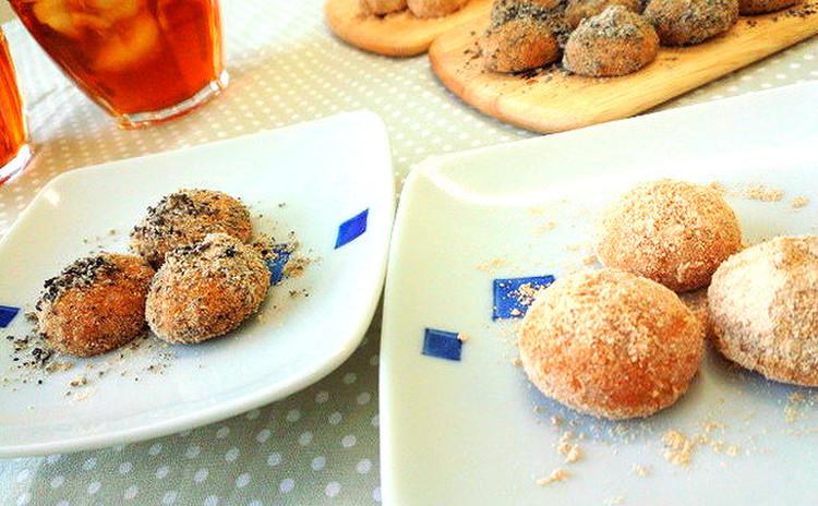 和素材でほっこり!きなことゴマのホロホロクッキーを作ろう!