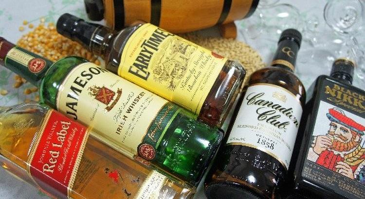 世界5大ウイスキー飲み比べ