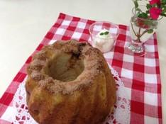 料理レッスン写真 - ほのかなパインの酸味と黒砂糖の素朴な甘さがおいしいクグロフパイナップル