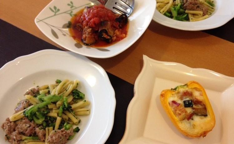 パプリカ、米ナスを使いきる!初夏のお野菜たっぷりのイタリアンレッスン