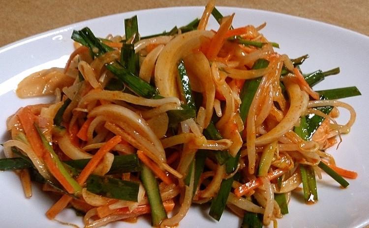 5種類の野菜でカンタンキムチ