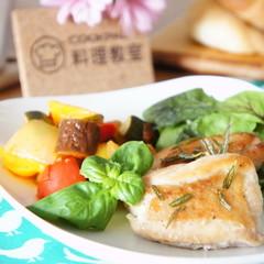 彩り夏野菜のデリご飯『三日月ロールパン』&『クロッカン』