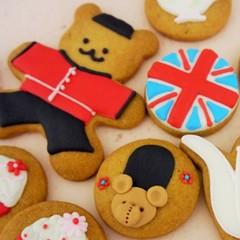 英国アイシングクッキー