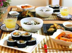 料理レッスン写真 - 一周年★リクエストメニュー!寒い冬に食べたい!韓国海苔巻&簡単チジミ