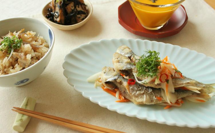 また食べたいと言われる鯵の南蛮漬けレッスン♫和食の基礎を学びませんか?