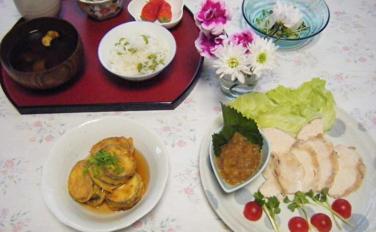 炊き込みご飯の基本をマスター~ふっくら枝豆ご飯♡ぱさぱさしない蒸し鶏
