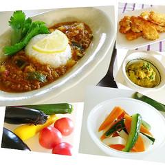 夏に食べたい!お野菜たっぷり「ラタトゥイユ・カレー」