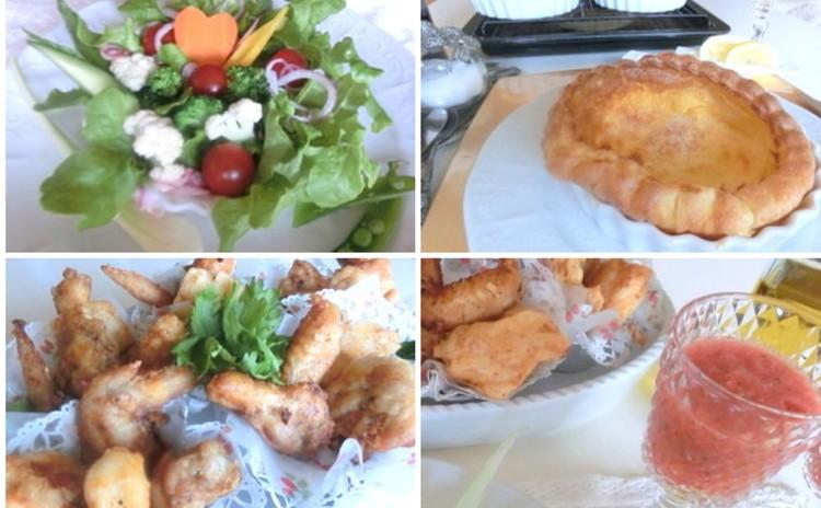 追加☆マリネな野菜deアレンジメント&4種のカリッ!チキンバスケット