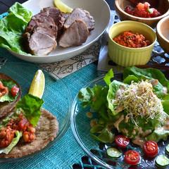野菜たっぷり&米粉やお味噌を使った☆美肌を造るメキシカン料理
