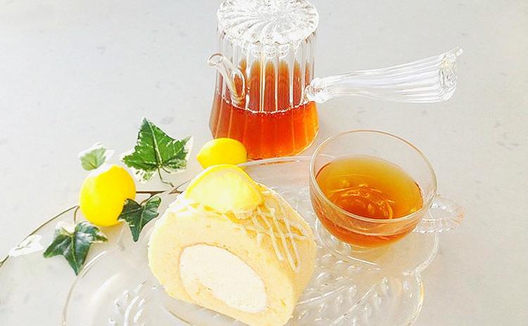 爽やか〜レモンのムースロール☆*:.。. o(≧▽≦)o .。.:*☆