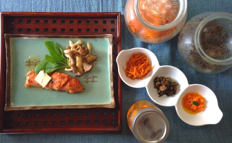 キュウリと人参の常備菜と手作り冷凍フードで時短クッキング♪