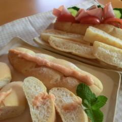 天然酵母deソフトフランスパン&ピッツァ・マルゲリータ