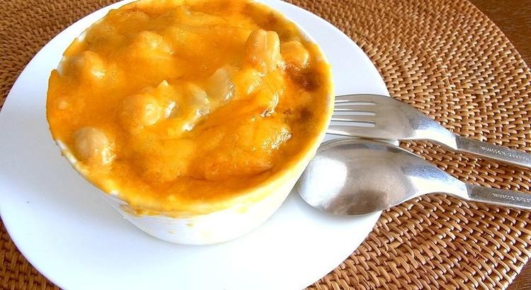ヒヨコ豆のオニオングラタンスープ