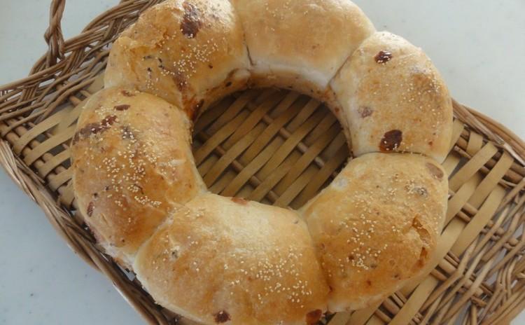 親子レッスン☆親子で楽しくパン作り☆ 枝豆チーズリング&ポンデケージョ