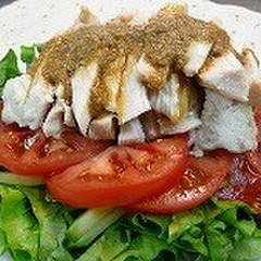 夏野菜を中華で楽しむ!!棒々鶏と麻婆茄子としゅうまい!!