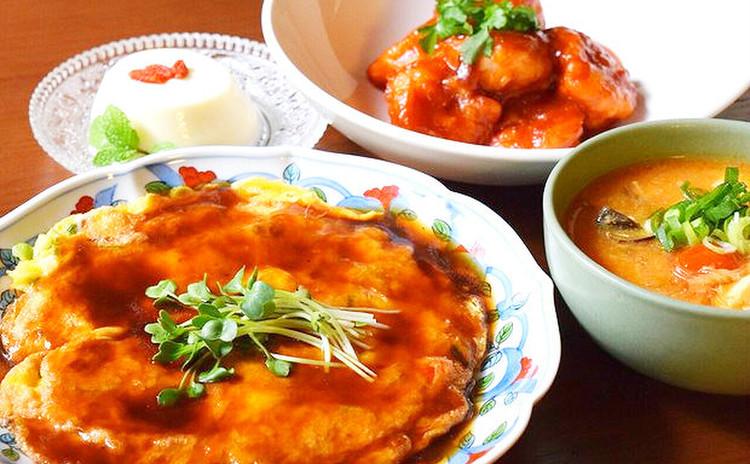 中華の人気メニューを一気に作ろう!エビチリ、かに玉、杏仁豆腐etc.
