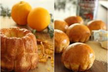 料理レッスン写真 - 生地はちょっぴりこねるだけ!「マンゴー&オレンジ」「メープル&メープル
