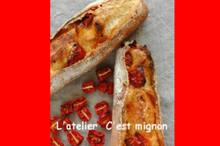 料理レッスン写真 - バリッと焼くフランスパン!自家製セミドライトマト他&チキンレモンスープ