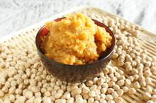 料理レッスン写真 - 料理を美味しくする隠し味!生麹でひよこ豆味噌をつくろう