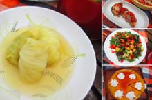 料理レッスン写真 - 野菜たっぷり秋のほっこり洋食 やさしいロールキャベツとパンプキンタルト
