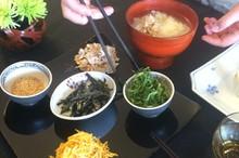 料理レッスン写真 - ローストチキンのアレンジレシピ ~鶏飯・しんじょう・サラダを翌日に!~