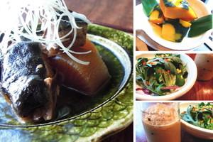 料理レッスン写真 - 冬の定番!ふっくらジューシーなブリ大根と、ほっこり南瓜の含め煮。