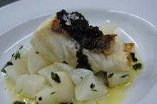 料理レッスン写真 - 冬に美味しい野菜を利用してお魚をふっくらとプロヴァンス風に!