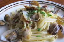 料理レッスン写真 - あさりの旨みたっぷりボンゴレビアンコ、サバとポテトのトマト煮